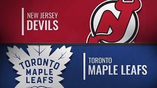 Торонто vs Нью-Джерси | New Jersey Devils at Toronto Maple Leafs | NHL HIGHLIGHTS | НХЛ ОБЗОР МАТЧА