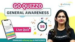 5:00 PM - SSC, Railway & All Exams 2020 Live Quiz | GA by Sushmita Ma'am | GA Quiz (Day #59)
