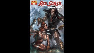 [New Story] Red Sonja:Wrath Of The Gods Issue #1