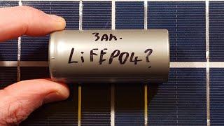 LiFePO4 versus standard lithium cells.