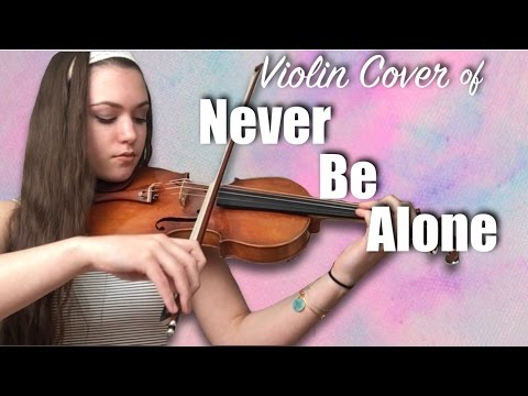 SHAWN MENDES NEVER BE ALONE ~ COVER