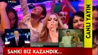 Star TV Türkiyə canlı yayımda Eurovision 2011 Azerbaijan Baku təmsilçiləri Eldar və Nigar.