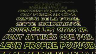 Générique Star Wars pour un anniversaire - V.I.Kids