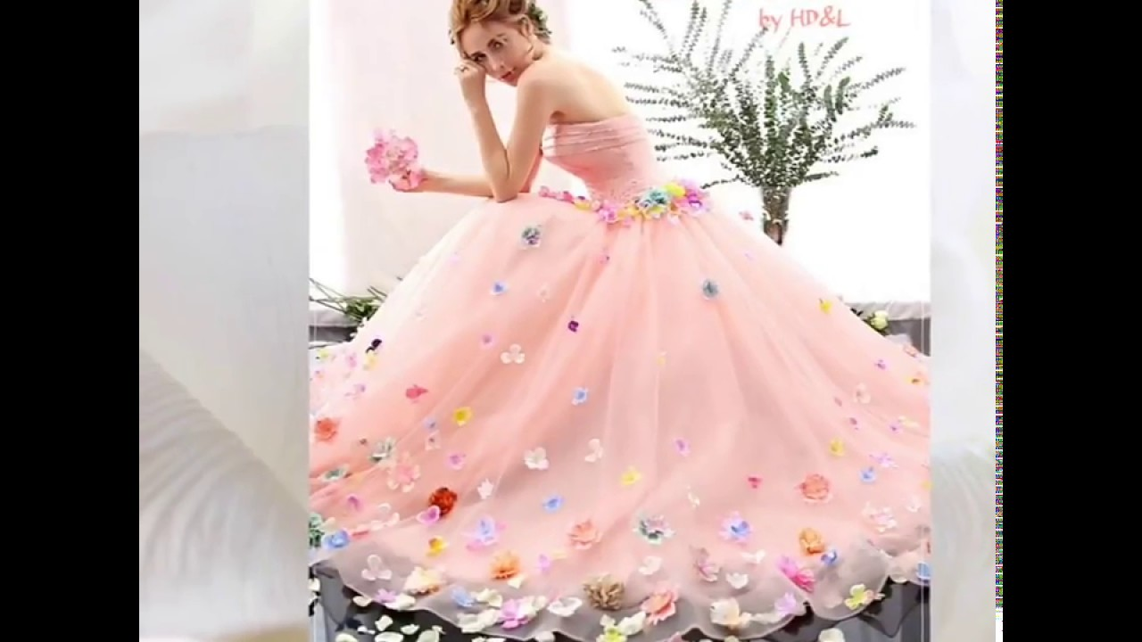 Quinceanera Deginer Wear Collection Barbie Gowns by HD&L - YouTube