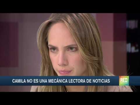 El último día de Camila en el set de Red + Noticias