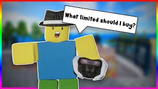 BEST Limiteds to BЏY When Starting ROBLOX TRADING