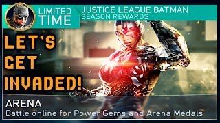 Injustice 2 Mobile LIVE Stream. Justice League Cyborg Invasion in Arena! Let's get some shards!