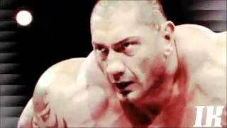 WWE Batista theme song i walk alone