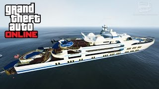 GTA Online - Yacht Gameplay and Tour [Executives and Other Criminals DLC]