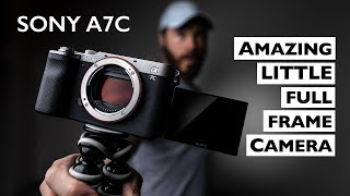 SONY A7C REVIEW: The BEST Small Full Frame Camera! (4K)