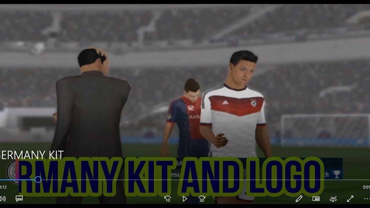 Create Germany Kits & Logo Dream League Soccer 2018 || Kits & Logo Dream  League Soccer 2018