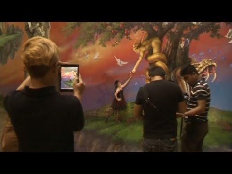 Mahasiswa Jadi Bagian Dalam Seni 3D Manila