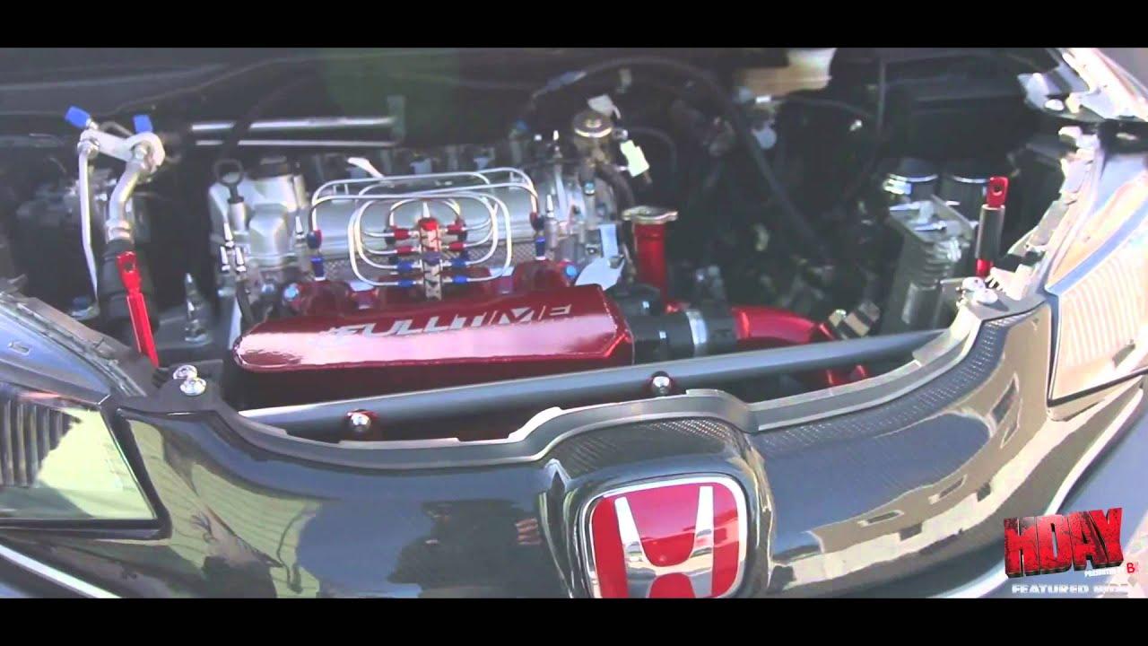 Kenny Vinces Fox Marketing 2015 Turbo Honda Fit  YouTube