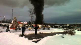 Hitch House on Fire - Shanty Bay Ontario