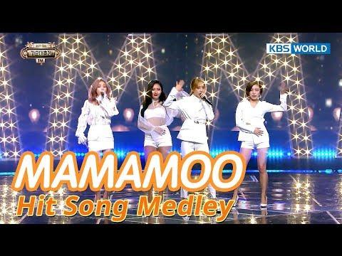 MAMAMOO - 2017 Hit Song Medley(DNA,GASHINA,etc) [SUB: ENG/CHN/2017 KBS Song Festival(가요대축제)]
