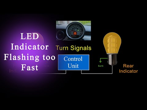Why do my Turn Signals BlinkFastWithLEDLights