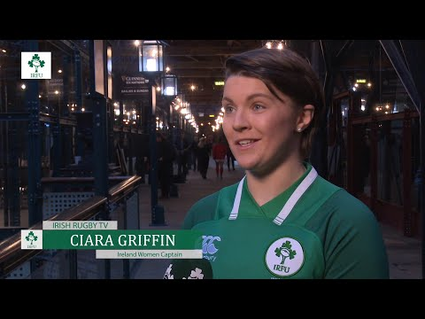 Ciara Griffin At The Women's Six Nations Launch