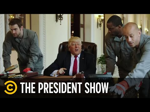 "The President Stars in ""VanderTrump Rules"" – The President Show"