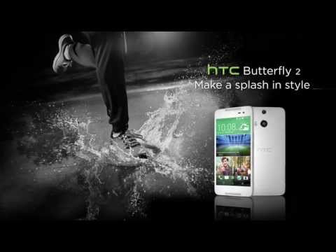 HTC Butterfly 2 - Make a Splash in Style