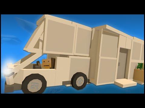Unturned 3.0 - BUILDING A CUSTOM VEHICLE & CAR STUNTS!