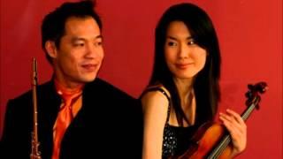 Franz Doppler Andante & Rondo for flute, violin, piano
