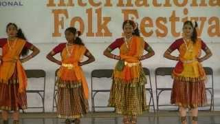 Southern India Gypsy folk dance