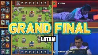 Adrian Piedra VS Atchiin GRAN FINAL  Clash Royale CROWN CHAMPIONSHIP #CCGS (LATAM)