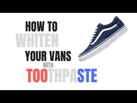 Whitening Vans With Toothpaste?