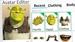 MAKING SHREK A ROBLOX ACCOUNT!!