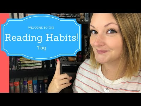 Reading Habits Tag!