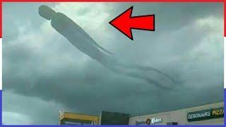 10 Onverklaarbare Fenomenen In De Lucht Vastgelegd Op Camera!