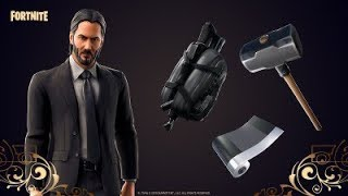 John Wick 3 Parabellum in Fortnite ! (Use Code : UMAIR-LATIF_YT )