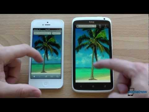 iPhone 5 vs. HTC One X