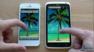 iPhone 5 vs. HTC One X(Many revere the HTC One X as having the best display on the market. Now with the iPhone 5 out, is that true? Both have LCD panels with RGB sub-pixel arrays., 2012-09-24T19:55:33.000Z)