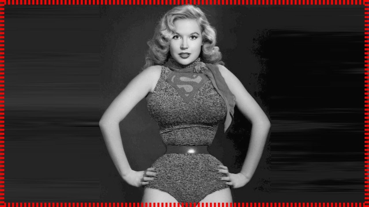 a8d31c0d688 Vintage Photos of Betty Brosmer a popular pin up model - YouTube