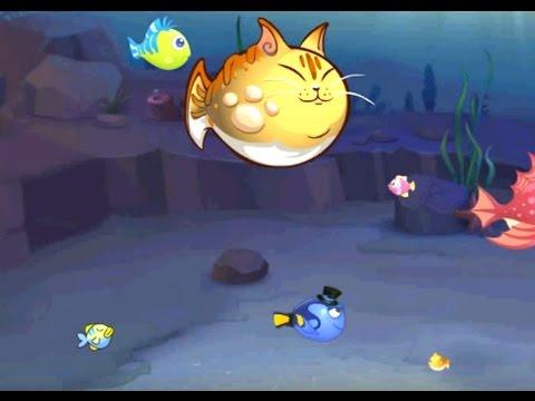 Fish Eat Fish Рыба ест Рыбу игра для одного двух трёх игроков