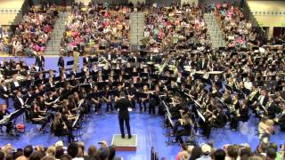 "VMHS Wind Ensemble ""John Williams: Fantasy of Flight"" @ Blue District Concert (4-24-14)"