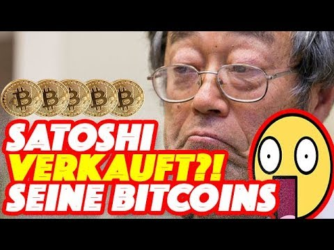 Satoshi Nakamoto Deutsch - SATOSHI NAKAMOTO VERKAUFT ALL SEINE BITCOINS?! - Bitcoin Kurs Bricht Ein!