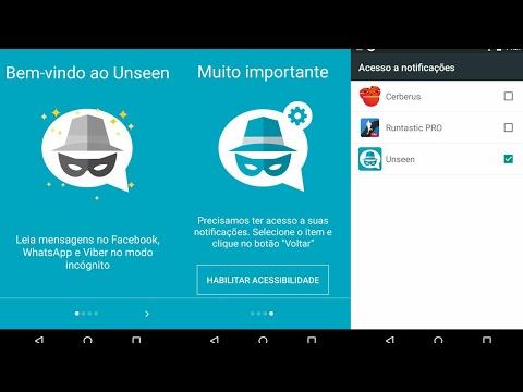 Unseen app