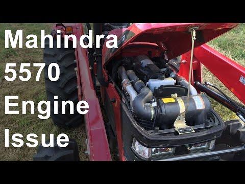 Mahindra 5570 Engine Problem - YouTube