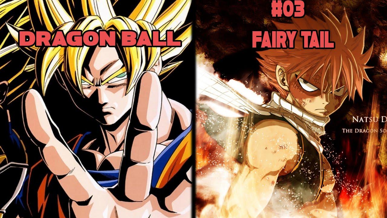 Top 5 Animes Similar To Dragon Ball Z Youtube