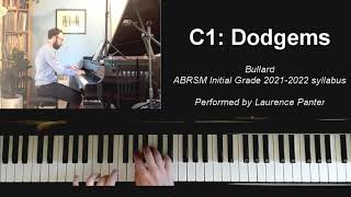 C:1 Dodgems (ABRSM Initial Grade piano 2021-2022)