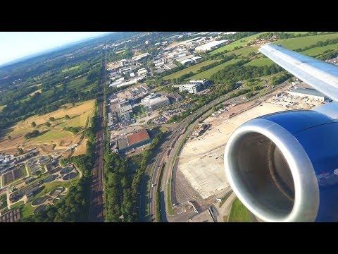 Stunning Take Off British Airways Boeing 737 G-GBTB at London Gatwick