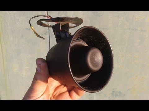 Ремонт сирены автосигнализации(Repair Of Siren Of Autosignaling)