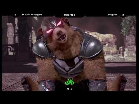 Tekken 7: FT10 Droguitto vs PHD|REV Neoyagami