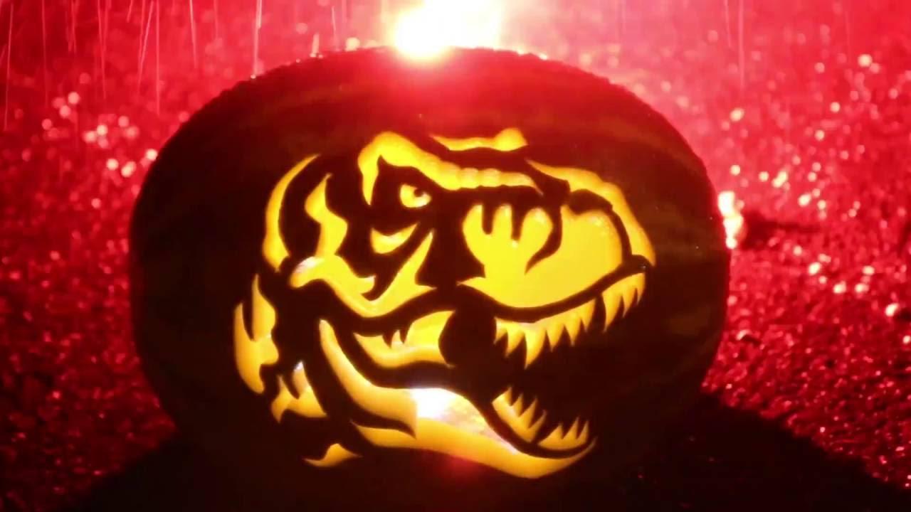 t rex pumpkin carving template  TYRANNOSAURUS REX Watermelon Carving