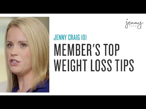 Our top Weight Loss Tips from Jenny Craig members