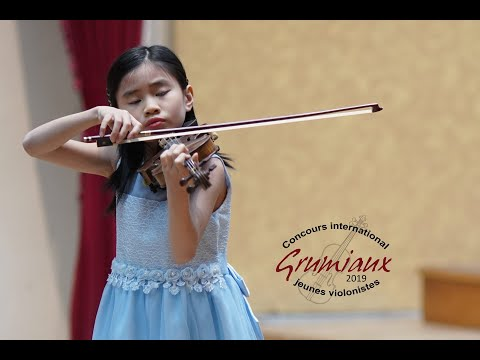 Nguyen Le  NGUYEN - 10 Yo - Vietnam - 1st Prize - International Grumiaux Competition 2019