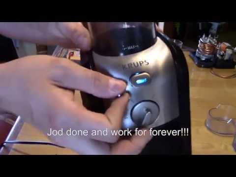 coffee grinder krups gvx2 repair : Comment réparer moulin café krups gvx2