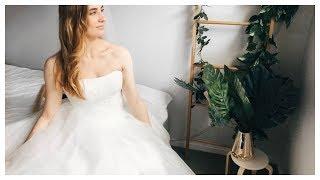 Trying AliExpress Wedding Dress UNDER $50!!